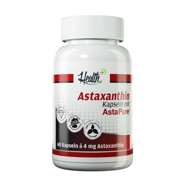 Astaxanthin aus Mikroalgen | 4 mg | 60 Kapseln