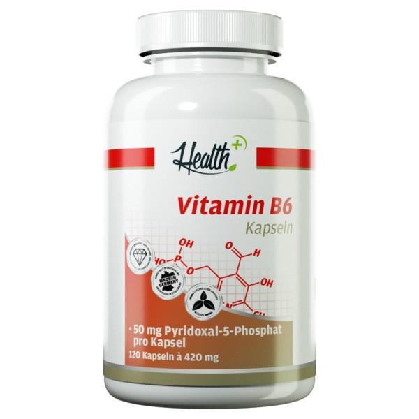 Vitamin B6 | 50 mg Pyridoxal-5-Phosphat (P-5-P) | 120 Kapseln