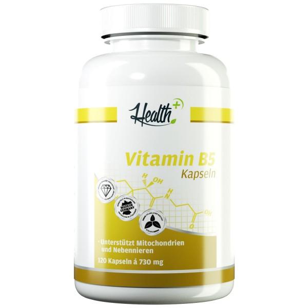 Vitamin B5 500 mg Pantothensäure 120 Kapseln