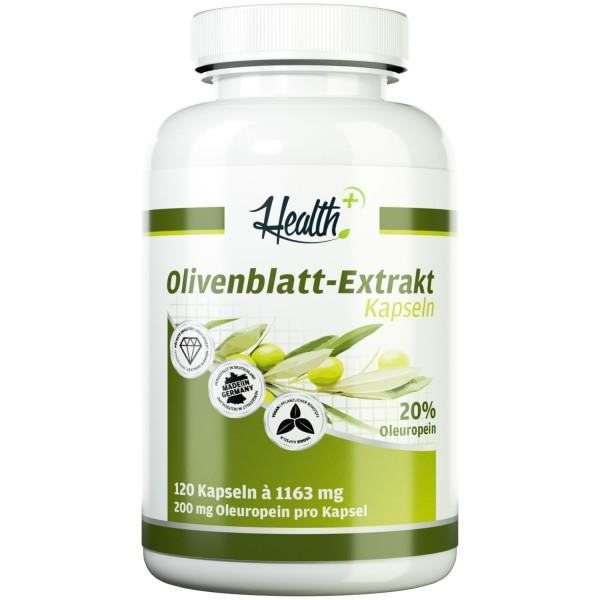 Olivenblattextrakt 200 mg Oleuropein 120 Kapseln
